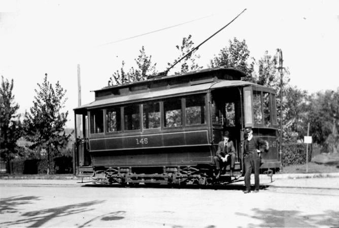 Trolley car 145, Washington Railway and Electric Company